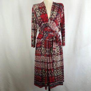 Ilse Jacobsen Hornbaek Knit Jersey Wrap Dress
